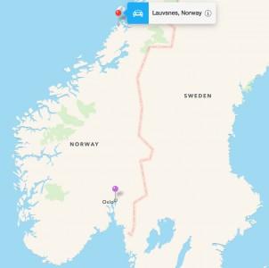Lauvnes Location