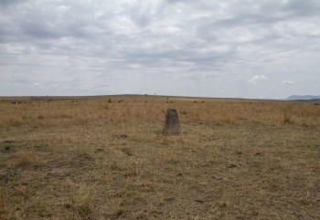 Kenya Tanzania Border Marker